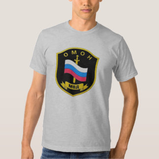 "MVD ruso Spetsnaz ""OMON "" Camisetas"