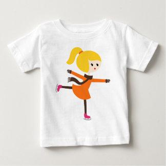 MWinterSkatersP1 Camiseta De Bebé