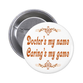 My Name del doctor Pin