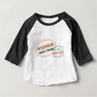 Myanmar allí hecho eso camiseta de bebé