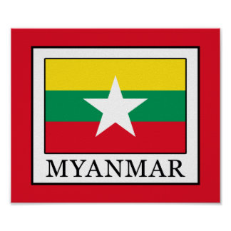 Myanmar Póster