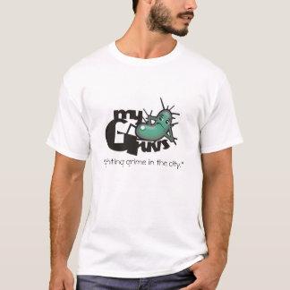 MyGruvs.  ¡Suciedad que lucha en la ciudad! Camiseta