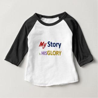 mystoryishisglory camiseta de bebé