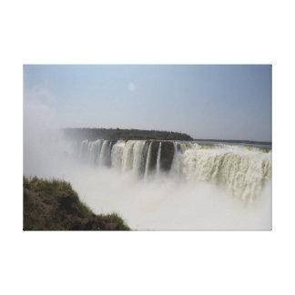 N°3 - Caídas de Iguazzu. Garganta del Diablo. Lona Impresión En Lienzo