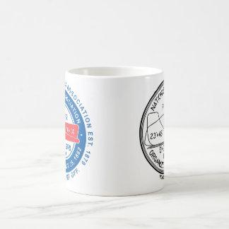 N.A.P.E. Taza dual del blanco del logotipo