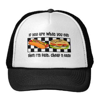 N barata fácil gorras