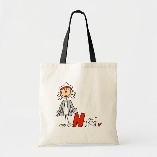 N está para la enfermera bolsas de mano