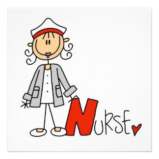 N está para la enfermera comunicado