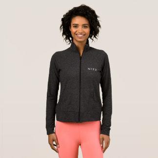 N I x la chaqueta atlética de las mujeres