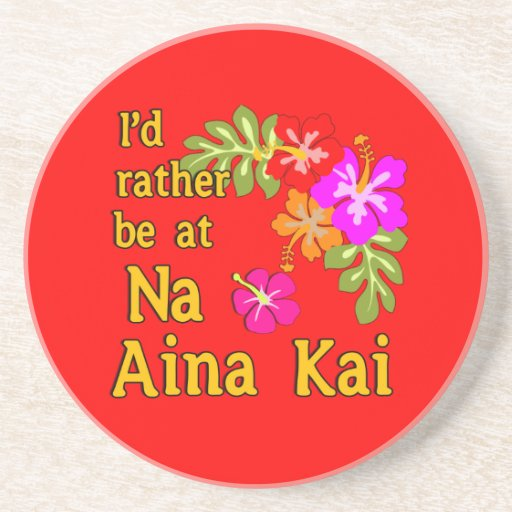 Na Aina Kai estaría bastante en Na Aina Kai Hawaii Posavasos Para Bebidas