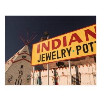 NA, los E.E.U.U., Arizona, indio de Lupton Postal