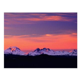 NA, los E.E.U.U., Oregon, las tres montañas de las Postal
