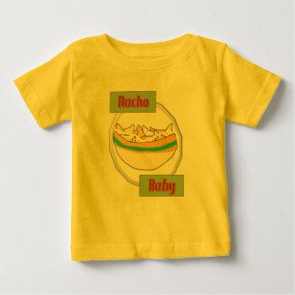 nacho camiseta de bebé