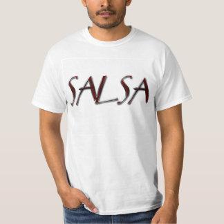 Nacho de la salsa y camiseta