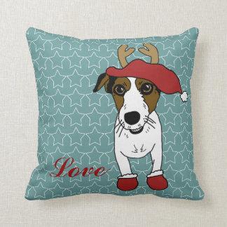 Nacho Jack Russell Terrier Cojín Decorativo