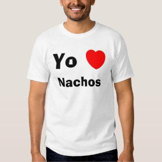 Nachos del corazón de Yo Camiseta