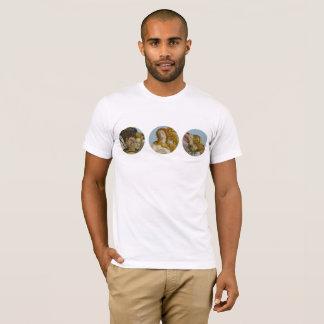 Nacimiento de la camiseta para hombre de Venus