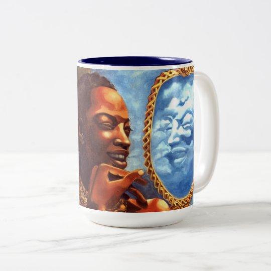 Nacimiento de la taza de la firma de Oshun