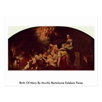 Nacimiento de Maria de Murillo Bartolome Esteban P Postal