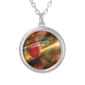 Nacimiento de Saturn Colgante Redondo
