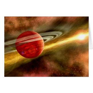 Nacimiento de Saturn Tarjeta