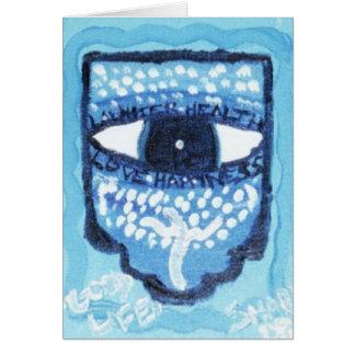 Nacimiento de una tarjeta de felicitación judía