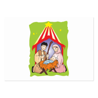 Nacimiento del navidad de la natividad de los tarjetas de negocios