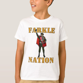 Nación de Farkle Camisetas