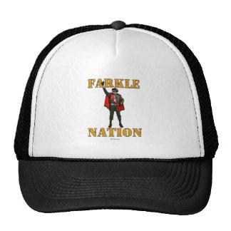 Nación de Farkle Gorras De Camionero