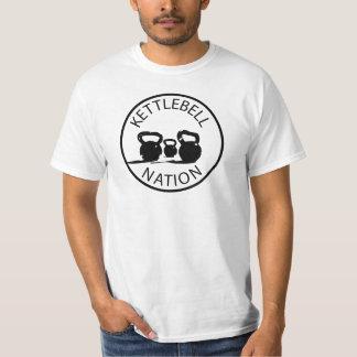 Nación de Kettlebell Camiseta