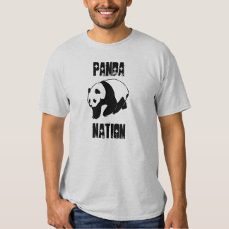 Nación de la panda camisetas