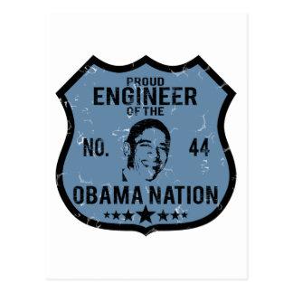 Nación de Obama del ingeniero Postal