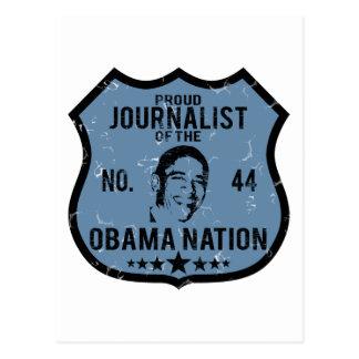 Nación de Obama del periodista Postal