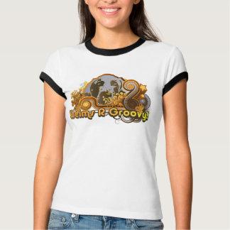 Nación de Weimaraner: El R de Weim maravilloso Camisetas
