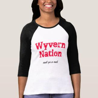 Nación del Wyvern, SE vincit del qui vincit Camiseta