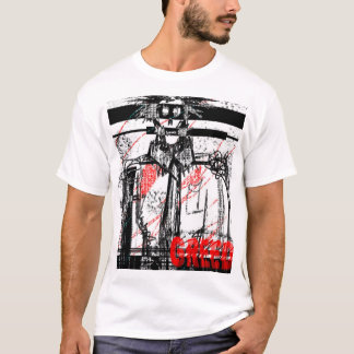 Nación del zombi camiseta