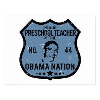 Nación preescolar de Obama Postales