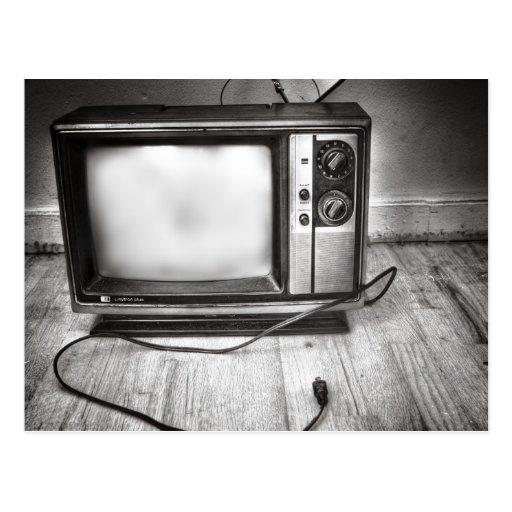 Nada en la postal de la TV