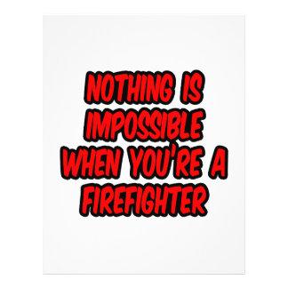 Nada es imposible… bombero tarjetón