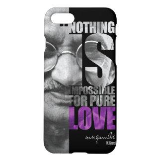 Nada es imposible caso del iPhone 7 de Gandhi Funda Para iPhone 7