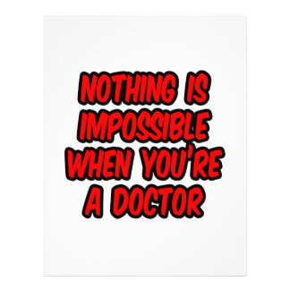 Nada es imposible… doctor flyer a todo color