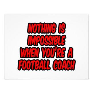 Nada es imposible… entrenador de fútbol anuncio