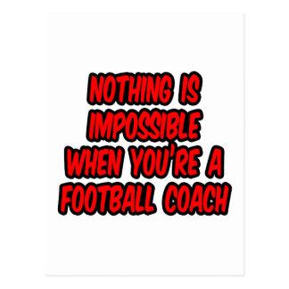 Nada es imposible… entrenador de fútbol postal