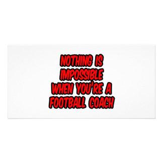 Nada es imposible… entrenador de fútbol tarjetas personales