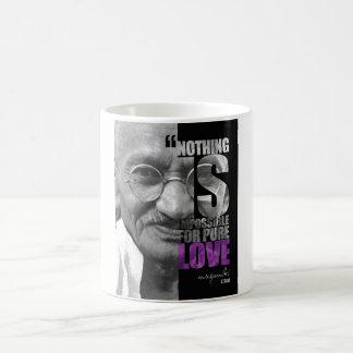 Nada es imposible taza de Gandhi 11oz