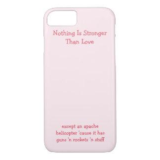Nada es más fuerte que amor. Caso divertido del Funda iPhone 7