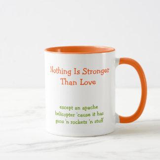 Nada es más fuerte que el café divertido de la taza