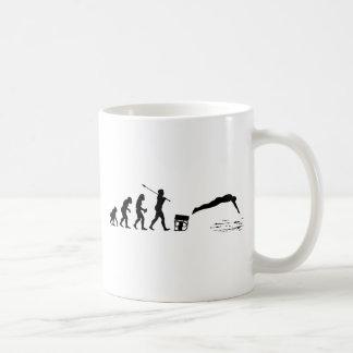 Nadador Taza De Café