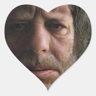 Nafets Neandertalensis Pegatina En Forma De Corazón