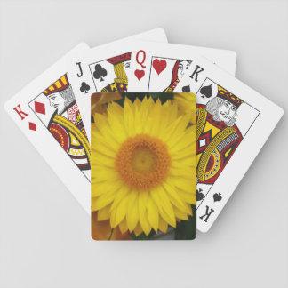 Naipes clásicos temáticos de la floración amarilla